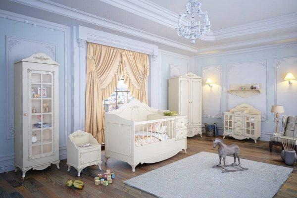 سرویس خواب نوزادی کاناپه ای رومنس