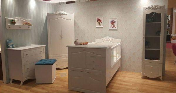 متنوع ترین سرویس خواب نوزادی دراور قاب آینه صندلی کمد و ویترین