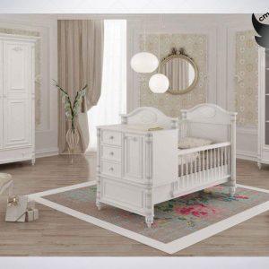 سرویس خواب نوزاد نوجوان - تخت خواب نوزاد نوجوان - سیسمونی نوزاد