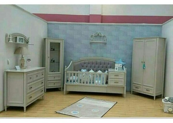 سرویس خواب کاناپه ای نوزاد - نوجوان - مدل رمانتیک