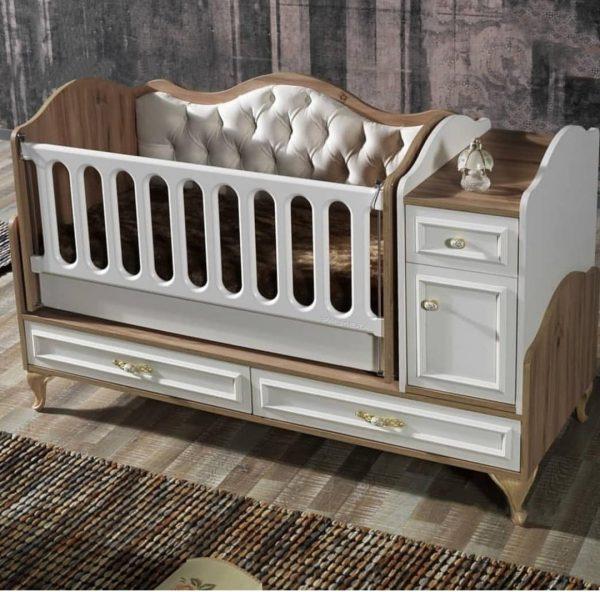 تخت خواب نوزاد مدل ونیز