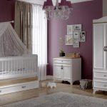 تخت خواب کودک مهماندار مدل لیزا